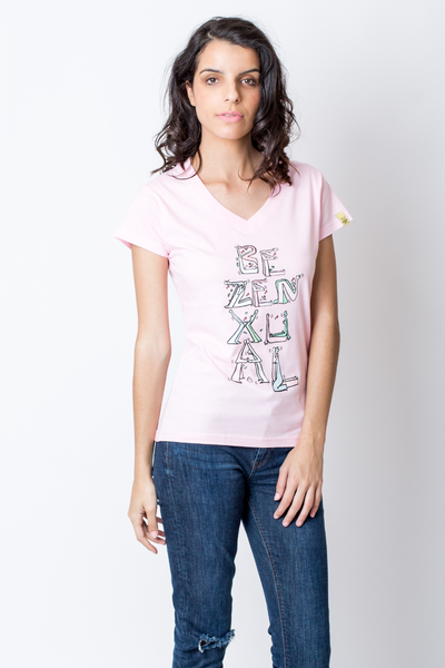 T-shirt Be Zenxual - Pink