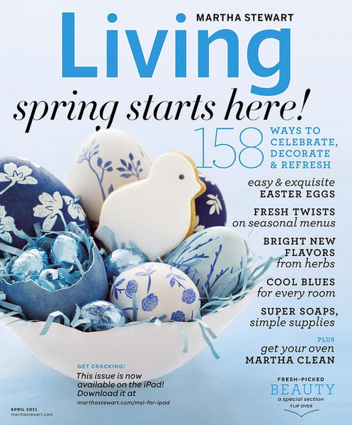 Martha Stewart Living Magazine Easter 2011