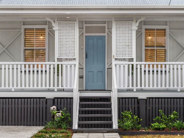 Hamptons style worker's cottage exterior makeover
