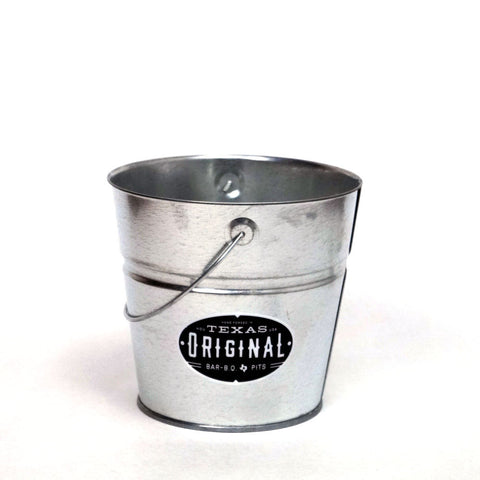 2 Qt Powder Coated Bucket-Plain Galvanized