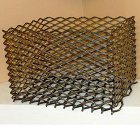 "Basket, Extra-Large Charcoal for 16"" x 12"" x 10"""