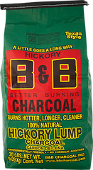 Hickory Lump Charcoal 20 lbs