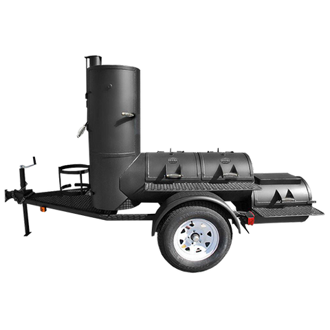 Portable Pearsall Smoker - Trailer Mounted