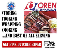 Pink Butcher Paper