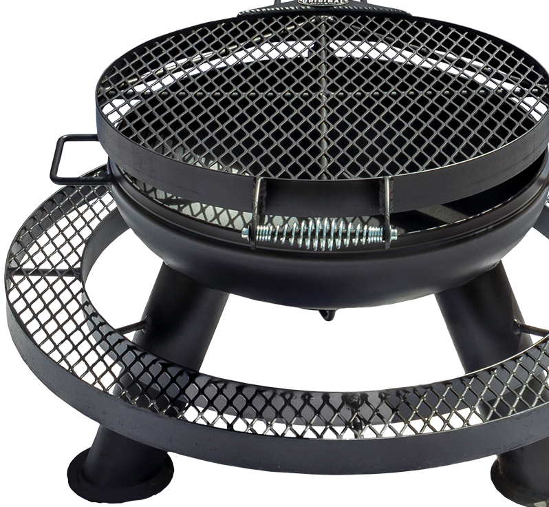 Spindle Top Fire Pit
