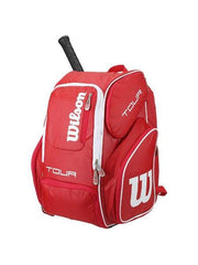 Wilson Tour V Red Large Backpack - Pickleball US