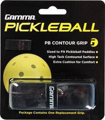 Gamma Pickleball Contour Grip Black - Pickleball US