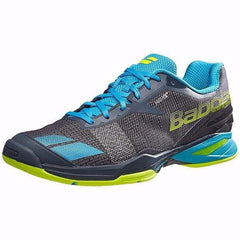 Babolat Jet AC Men's Grey/Blue/Yellow - Pickleball US
