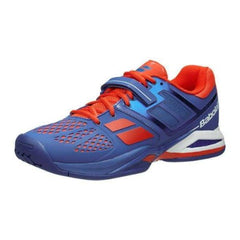 Babolat Propulse All Court Blue/Red Men's Shoes - Pickleball US