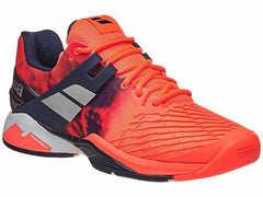Babolat Propulse Fury All Court Fluro Red Men's Shoes - Pickleball US