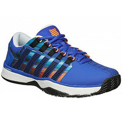 K-Swiss Hypercourt Blue/Graphic Print Men's Shoes - Pickleball US