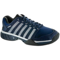 K-Swiss Hypercourt Express Navy/Silver/Black Men's Shoes - Pickleball US