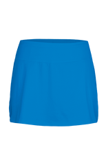 "Chrissie Atomic Blue.  13.5"" Side Inset Skort /Atomic Blue - Pickleball US  - 1"