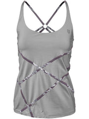Eleven Datura Trapeze Tank Frost Grey DT3302-021 - Pickleball US