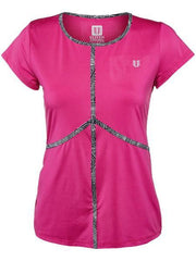 Women's Apparel - Eleven Intrepid Energy Tee Boysenberry IN1122-510