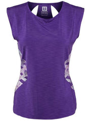 Women's Apparel - Eleven Thika Center Stage Cap Sleeve Purple TH1202-500