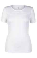 Tail Coral Glam Short Sleeve White - Pickleball US  - 1