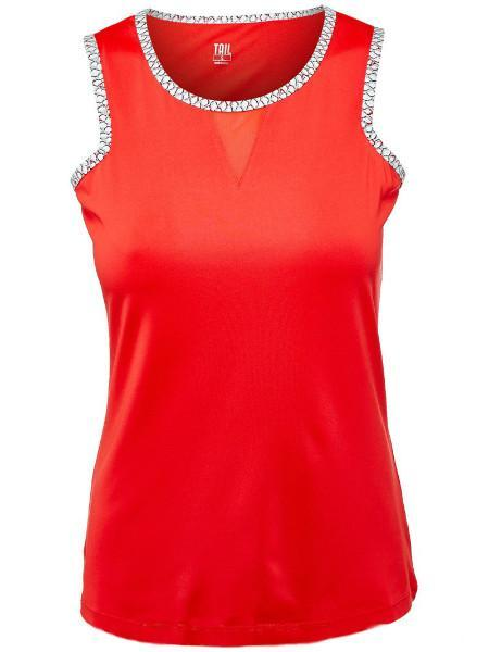 Women's Apparel - Tail Mirage Cut In Armhole Tank Paprika TA2353-0282