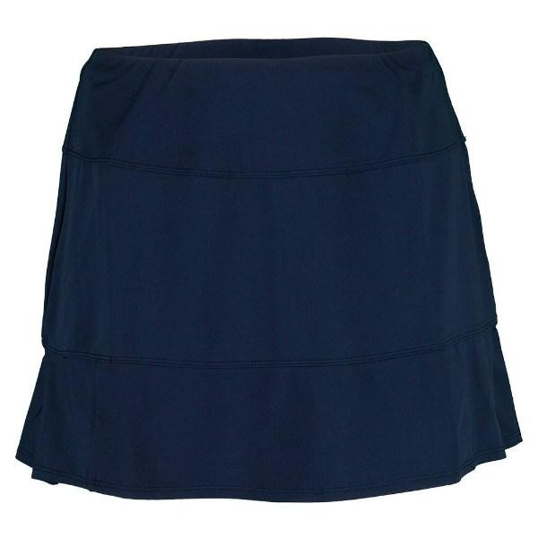 Tail Navy Regatta 13.5'' Pleated Flounce Skort Navy - Pickleball US