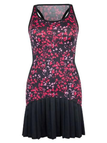 Women's Apparel - Tail Rhapsody Racerback Dress Floral Mesh TC2368-C672