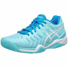 Asics Gel Resolution 7 Aqua Splash/White/Diva Blue Women's Shoes - Pickleball US
