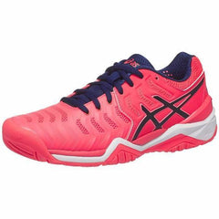 Asics Gel Resolution 7 Diva Pink/Indigo Blue/White Women's Shoes - Pickleball US