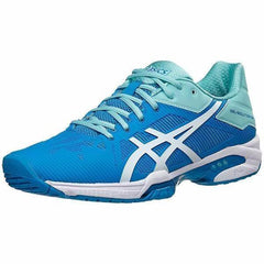 Women's Shoes - Asics Gel Solution Speed 3 Aqua Splash/White/Diva Blue Women's Shoes