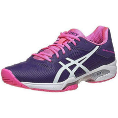 Asics Gel Solution Speed 3 Parachute Purple/White/Hot Pink Women's Shoes - Pickleball US