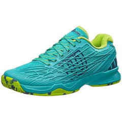 Wilson Kaos Teal Blue/Granny Green Women's Shoes - Pickleball US