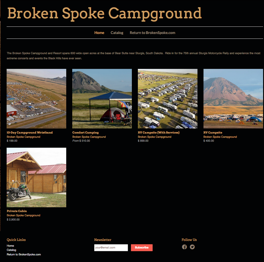 The Campground Formerly Known As Broken Spoke - Best Campground For Sturgis