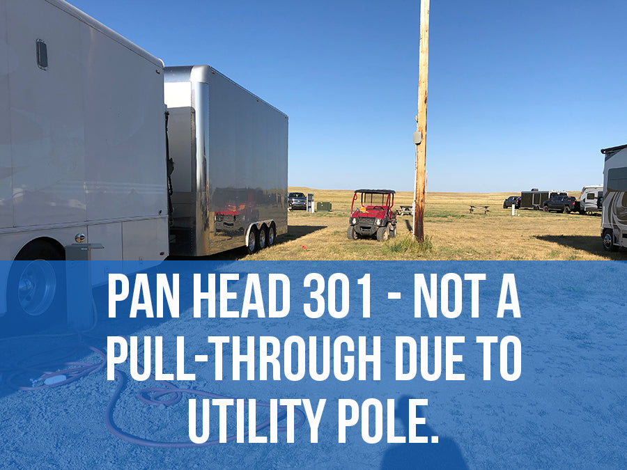 2021 Pan Head RV Park PULL THROUGH (288 - 317)