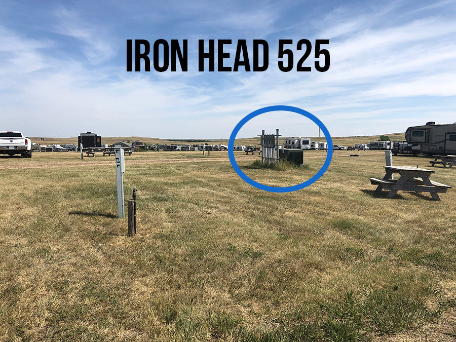 2021 Iron Head RV Park - (40' X 55') PULL THROUGH SITES (Sites 500 to 598)