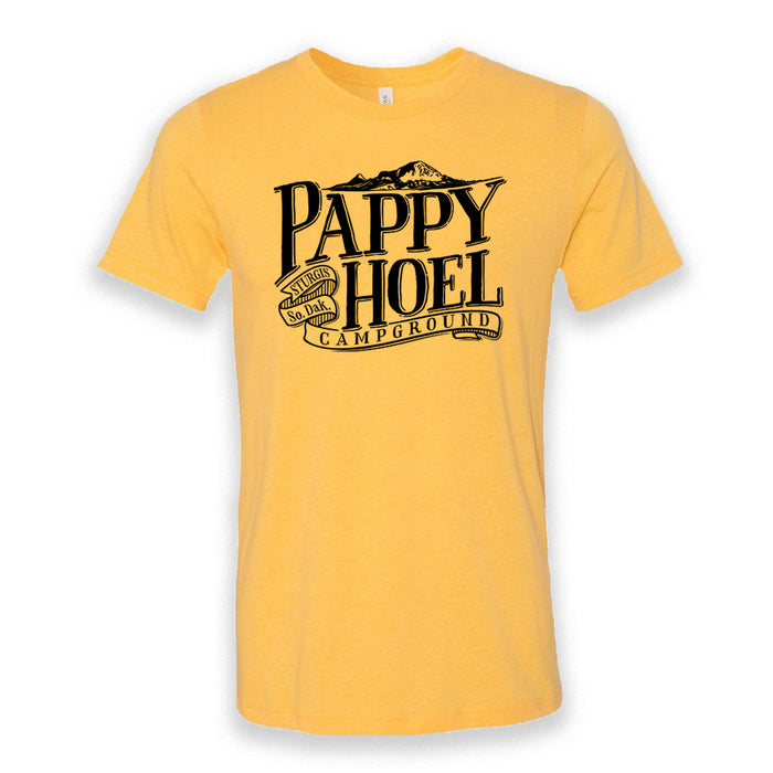 Pappy Hoel & Bear Butte Tee - HEATHER YELLOW GOLD