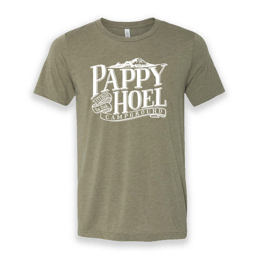 Pappy Hoel & Bear Butte Tee - HEATHER OLIVE