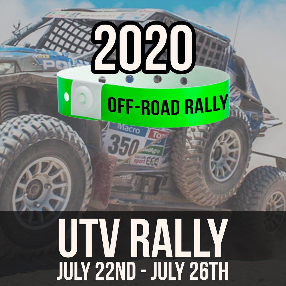 2020 Off-Road Rally Admission Wristband