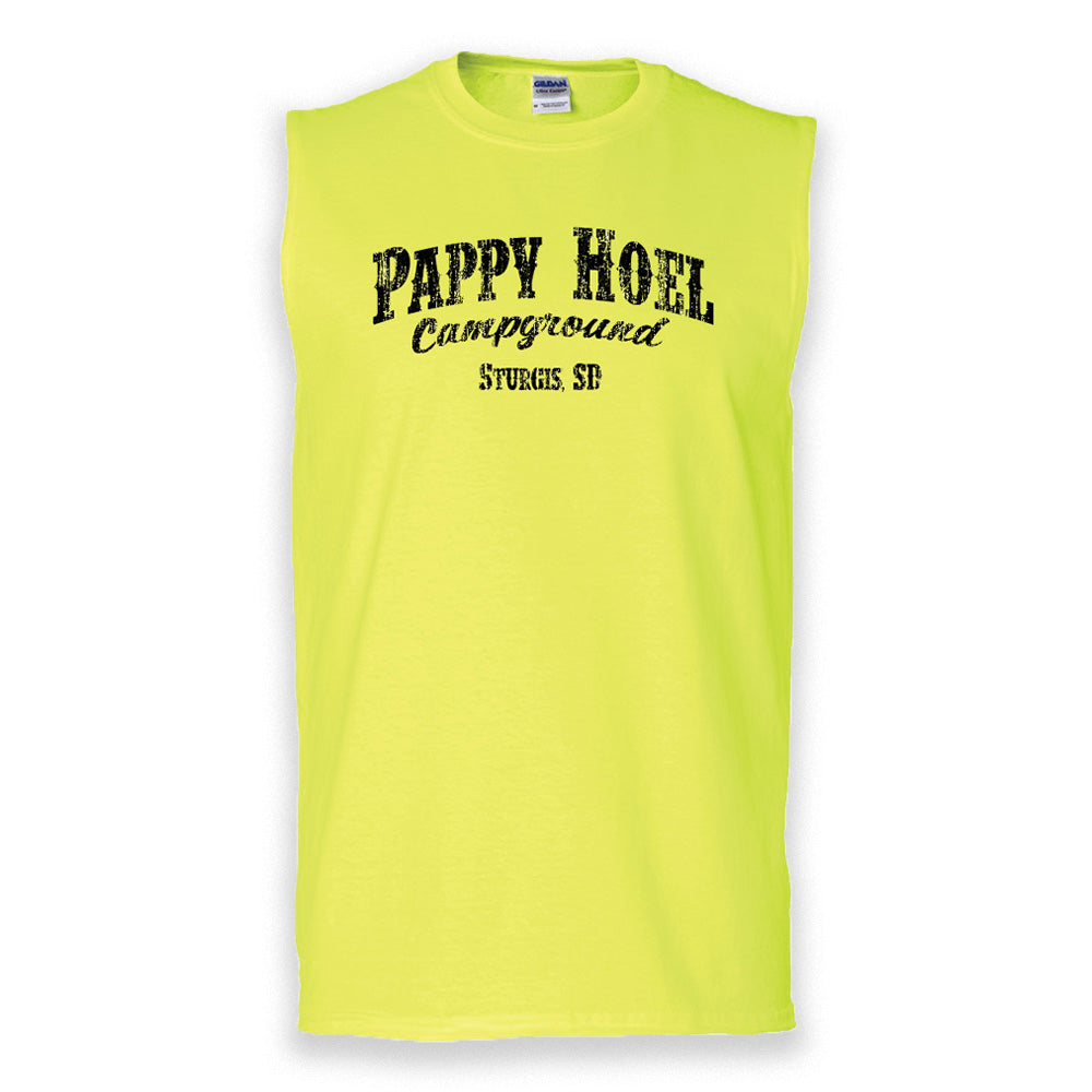 Classic Muscle Tank - NEON YELLOW