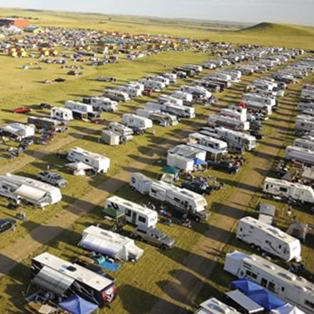 RV Camping at Pappy Hoel Campground - Sturgis, SD