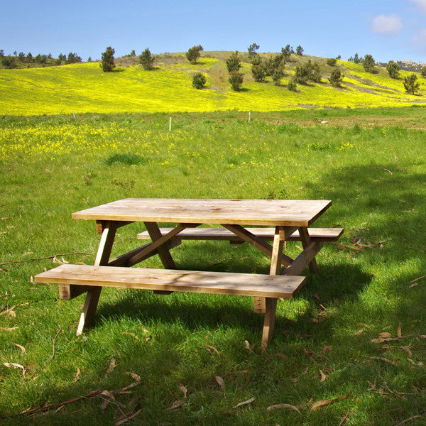 Picnic Table Week Rental & Sturgis Campground   Best Tent Camping in Sturgis SD u2013 Pappy Hoel ...