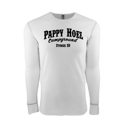Pappy Thermal Long-Sleeve  -  WHITE