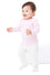 105 - Infant Baby Rib Long Sleeve Infant Lap Shoulder T-Shirt