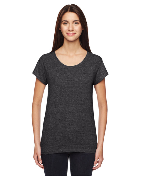 02829DA - Ladies' Harbor Eco-Nep Jersey T-Shirt