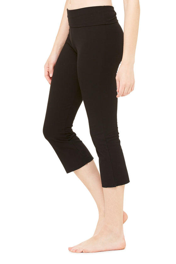 815 - Women's Cotton Spandex Capri Pant