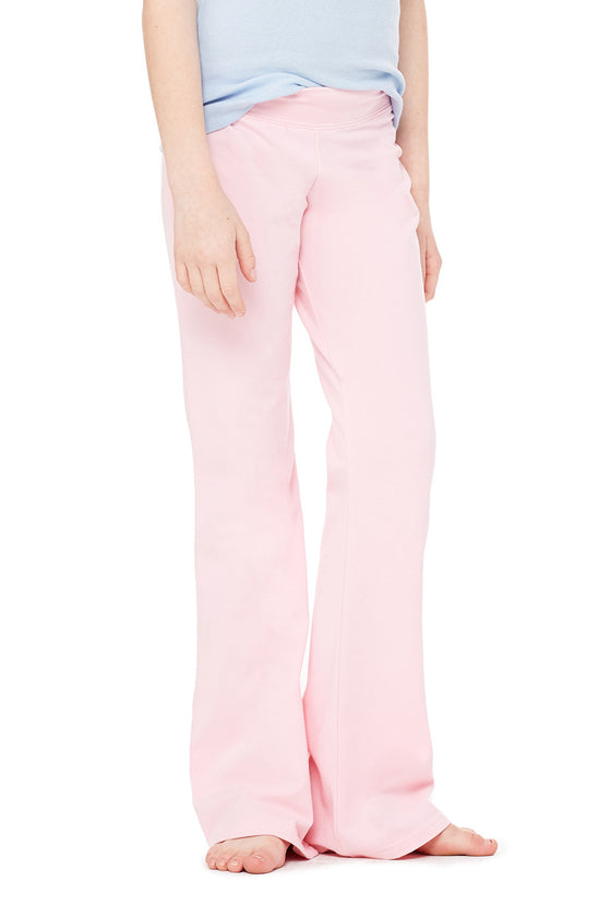 910 - Girls' Cotton Spandex Dance Pant