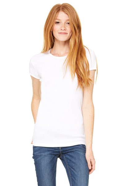 1001 - Women's Baby Rib Short Sleeve Tee