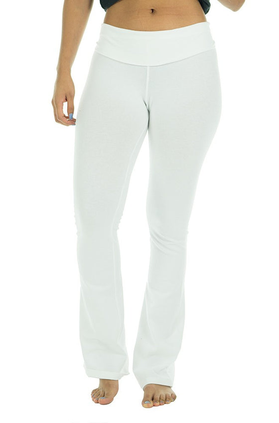 1004 - Combed Spandex Jersey Yoga Pant