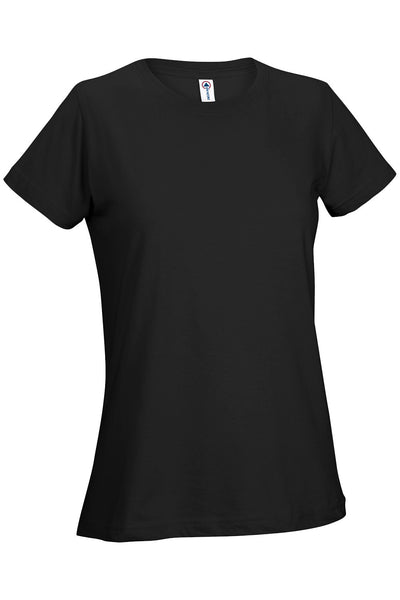 12500 - Ladies 30/1's Soft Spun Tee