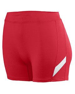 1335  Ladies Wicking Poly/Span Short
