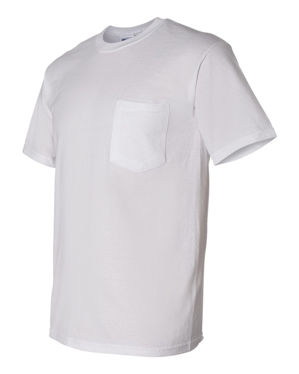 8300- DryBlend 50/50 T-Shirt with a Pocket