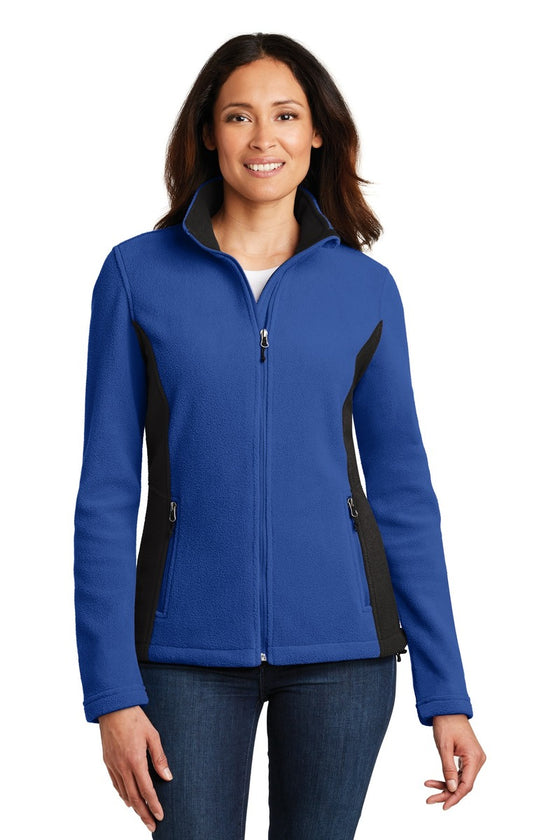 L216 - Ladies Colorblock Value Fleece Jacket