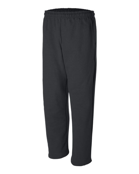 12300- DryBlend Open Bottom Pocketed Sweatpants